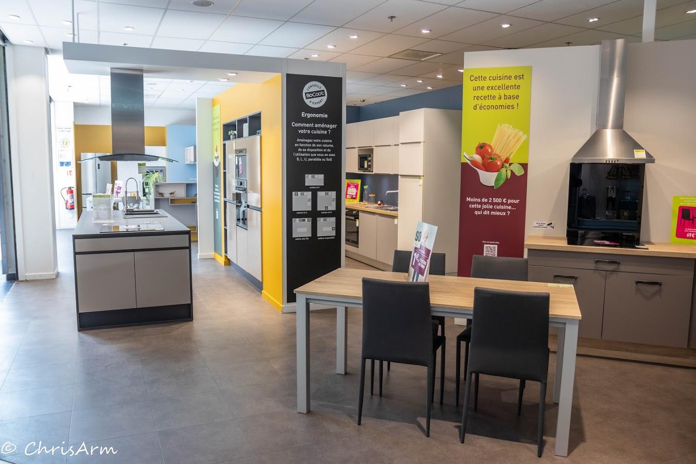 Magasin Socoo C Cuisine socooc - centre commercial du belvédère - auchan - dieppe